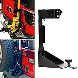 OHMU Off-Road Tailgate Hi-Lift Jack Mount Bracket fit for Jeep Wrangler JK 2007 2008 2009 2010 2011 2012 2013 2014 2015 2016 2017 (JK Tailgate Hi-Lift Jack Mount Bracket)