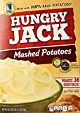 Hungry Jack Instant Mashed Potatoes, Naturally Flavored - Family Size 26.7 Ounce Box