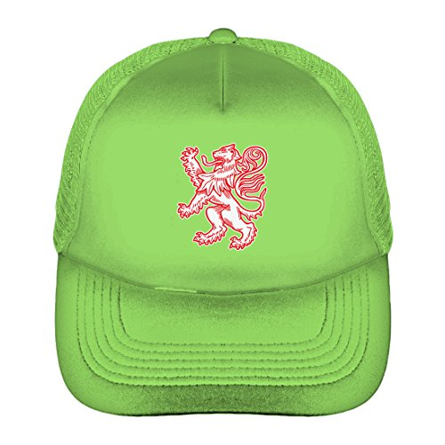 Tcombo Scotland Coat of Arms Solid Trucker Cap (Neon (United Nation Costume For Adults)
