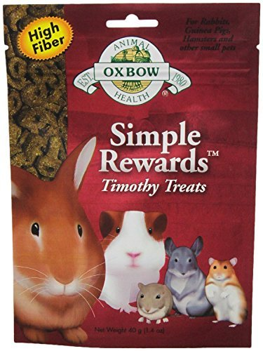 Oxbow Animal Health Simple Rewards Timothy Treat for Pets, 1.4-Ounce (Pack of 2) by Oxbow Animal Health