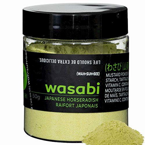 YOSHI Premium Wasabi Powder (Dried Horseradish), 50g (1.8oz) | Imported from Japan