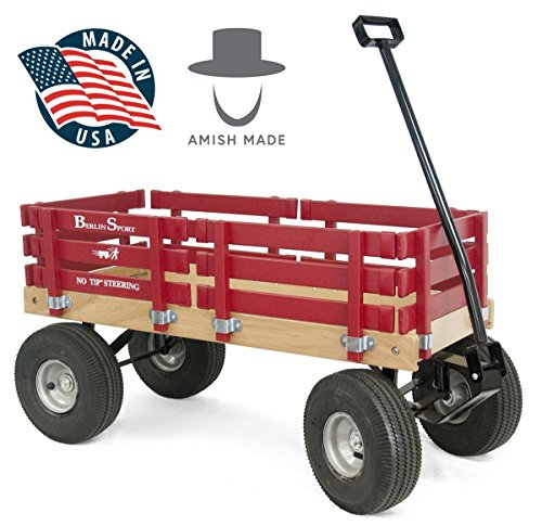 Berlin Red Wagon for Kids -...