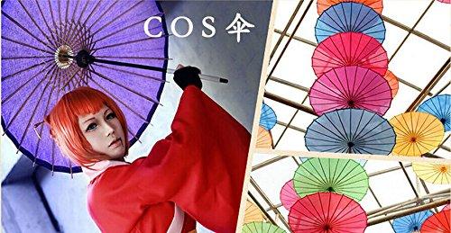 5Five asiatique japonais chinois Parapluie Huile papier solide color/é Parapluie 1/PC