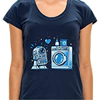 - Camiseta R2D2 In Love - Feminina