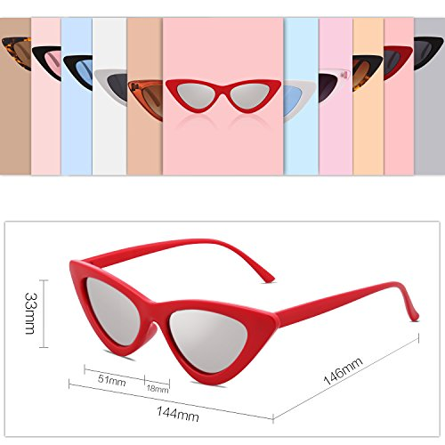 664a69366b4d5 SOJOS Clout Goggles Cat Eye Sunglasses Vintage Mod Style Retro Kurt Cobain  Sunglasses SJ2044