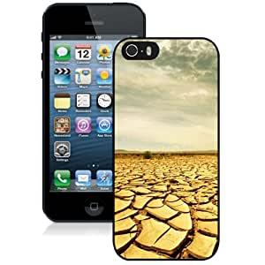 Fashion DIY Custom Designed iPhone 5s Generation Phone Case For Dried up Land Phone Case Cover