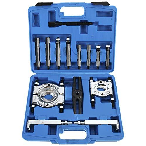 8MILELAKE 14PCS Bearing Separator Puller Set Heavy Duty 5-Ton Capacity 2