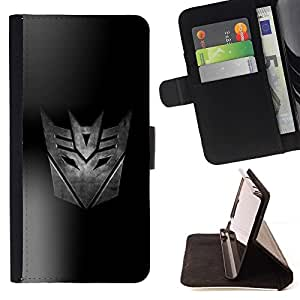 BETTY - FOR Samsung Galaxy S3 Mini I8190Samsung Galaxy S3 Mini I8190 - Transform Space Auto Robots - Style PU Leather Case Wallet Flip Stand Flap Closure Cover