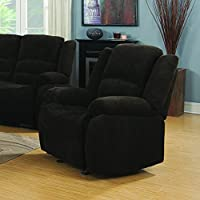 Coaster Home Furnishings 601463 Casual Recliner, Chocolate