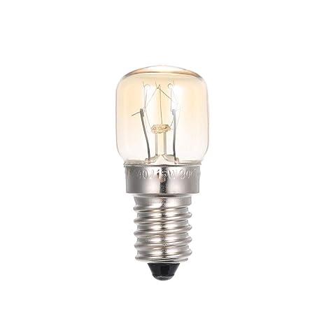 Lilideni AC110-120V 15 W Bombilla incandescente de tungsteno E14 ...
