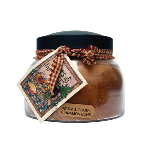 A Cheerful Giver A Warm & Gooey Cinnamon Buns 22 oz. Mama Jar Candle, 22oz ()