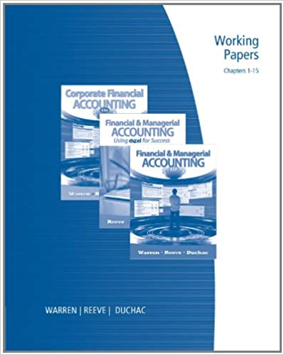 Research papers managerial accounting