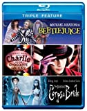 Triple Feature (Beetlejuice / Charlie and the Chocolate Factory / Corpse Bride) [Blu-ray] by Warner Home Video