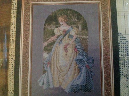 Lavender & Lace Victorian Designs, Queen Anne's Lace, Cross Stitch Pattern