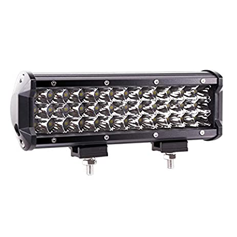 Famous ok led light bar adornment simple wiring diagram amazon triple row led light bar quandingyi 9 inch 108w spot aloadofball Gallery