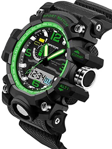 Multifunctional Outdoor Electronic Sport Watches Waterproof Swimming Watches For Boys and Girls