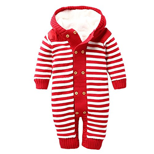 (Comcrib Winter Baby Boy Girl Double-Breasted Cotton Tattoo Newborn Cashmere Outfits Children)