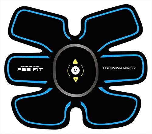 Abs Stimulator Abdominal Muscle Toner Portable Trainer Fat Burner Toning Belt Fitness Training Gear for Men Women Abs Arms Biceps Legs Work Out From Home Ultimate Body Toning Stay Fit KLicK