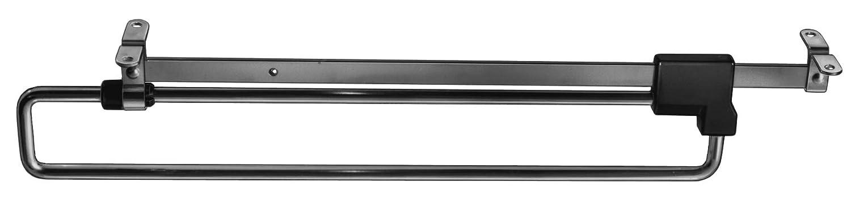 Kleiderb/ügelauszug ausziehbar SIMON Kleiderb/ügelhalter Garderobenhalter Kleiderhaken 1 St/ück Garderobenauszug Auszug 450 mm