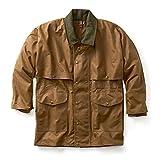Filson 10002 Extra Long Tin Cloth Packer Coat - Tan (Large)