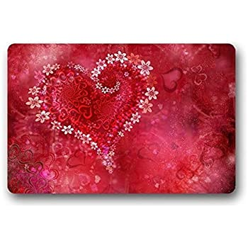 Amazon Com Densy Door Mats Valentine S Day Fabric Indoor