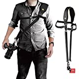 Voking VK-Q5 Camera Universal Shoulder Neck Strap Belt Adjustable Comfortable Quick Release Safety Tether for DSLR Camera