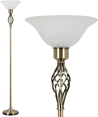 Traditional Style Metal Floor Lamp