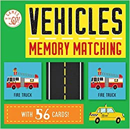 Maxine Lee-Mackie - Games On The Go!: Vehicles Memory Matching