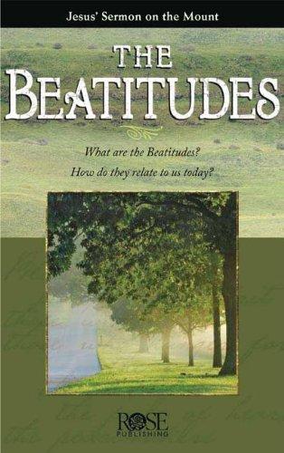 Beatitudes- pkg of 5 pamphlets (Rose Pkg)