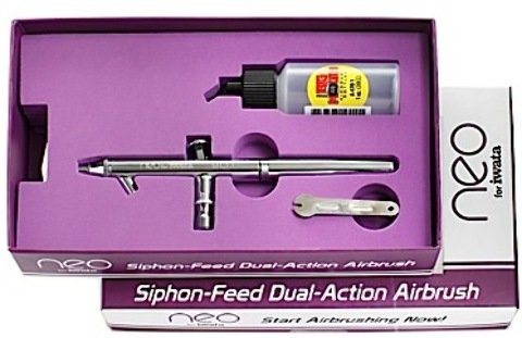 Iwata Neo Bcn Siphon-Feed Beginners Airbrush *** Product Description: Iwata Neo Bcn Siphon-Feed Beginners Airbrush- Unit: Eachthink You Want To Give Airbrushing A Try- Iwata-Medea Designed The Neo For The First Time User.The Neo Is Affordable, Sp ***