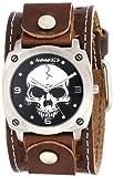 Nemesis Men's BSTH926K Classics Skull Watch