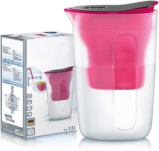 EP-kitchen Jarra de Filtro de Agua de 1.5L, Ajuste y Cartucho de ...