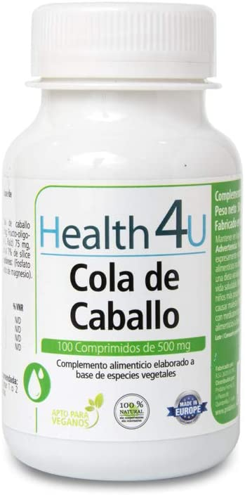 H4U - H4U Cola de Caballo 100 comprimidos 500mg: Amazon.es: Salud ...