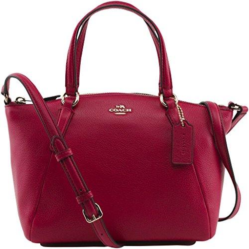 Coach Leather Satchel Crossbody Handbag