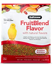 ZuPreem FruitBlend Flavor with Natural Flavors Essential Nutrition for Very Small Bird