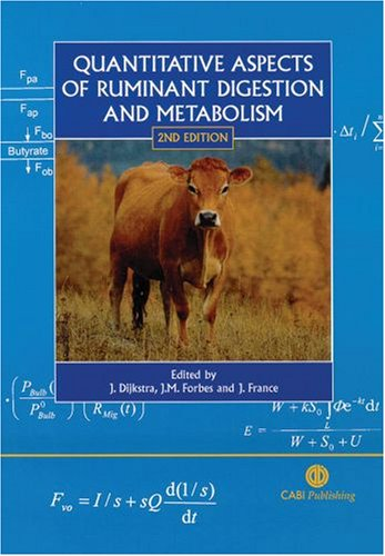 Download Quantitative Aspects of Ruminant Digestion and Metabolism (Cabi) ebook