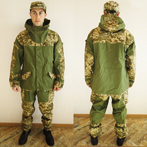Ultra New Rare Russian Army Spetsnaz Camo Uniform Gorka Set BDU Suit Size XL or 52 for Europe (Camo Rare)