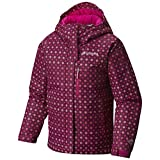 Columbia Kids Girl's Magic Mile Jacket (Little Kids/Big Kids) Deep Blush Pinwheel Print/Deep Blush XX-Small