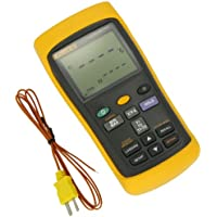 Fluke 50 Series II Digital Thermometer, 3 AA Battery, -418 to +3212 Degree F Range, 60 Hz Noise Rejection