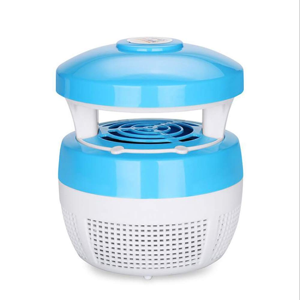 Mosquito killer ZMIN Mosquito Lamp Electronic Insect Killer Indoor Mosquito Repellent Physical Mosquito Killing LED Violet Light Anti-Escape Design by Mosquito killer