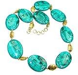 Malachite Women 925 Sterling Silver Necklace - FREE GIFT BOX