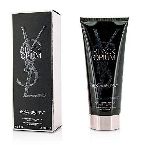 Yves Saint Laurent Black Opium Shimmering Moisture Fluid For The Body - Opium Perfume By Yves Vanilla Saint Laurent