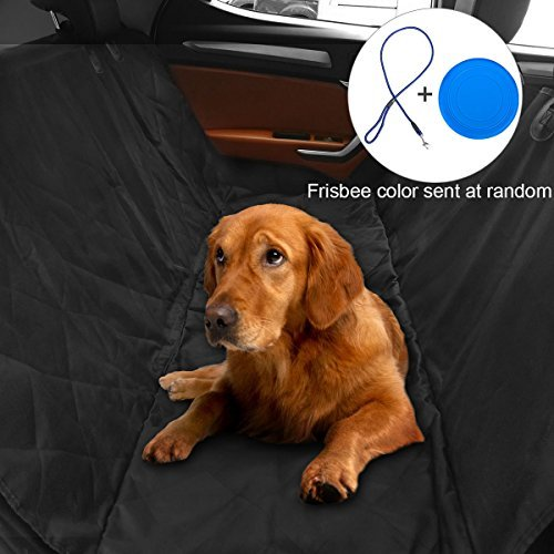 YOKEN Pet Seat Cover Car Seat Cover for Pets - Waterproof and Scratch Resistant and Anti-Slip Mats and Hammocks, Quilted, Padded, Durable Pet Seat Covers for Cars Trucks and SUVs
