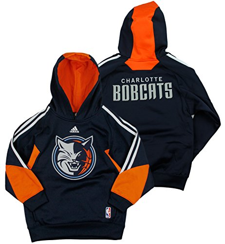 Charlotte Bobcats NBA Big Boys On The Court Hoodie, Navy (Large (14-16), Navy) ()