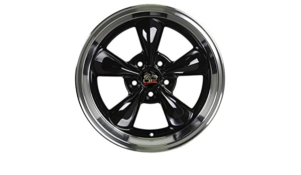 Partsynergy Replacement For 17 Rim Fits 1994-2004 Ford Mustang Gloss Black 17x9 Aluminum Wheel