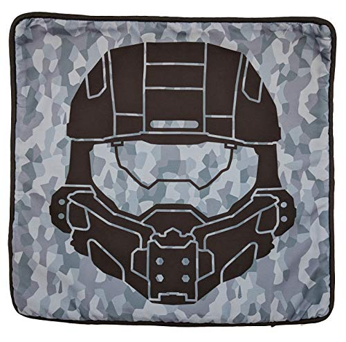Jay Franco Halo Chief Camo Decorative Pillow Cover - Kids Super Soft 1-Pack Throw Pillow Cover - Measures 15 Inches x 15 Inches
