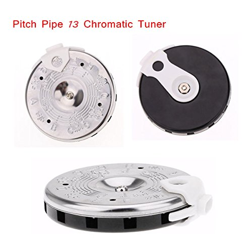 Andoer A003AP PC-C Pitch Pipe 13 Chromatic Tuner C-C Note Selector