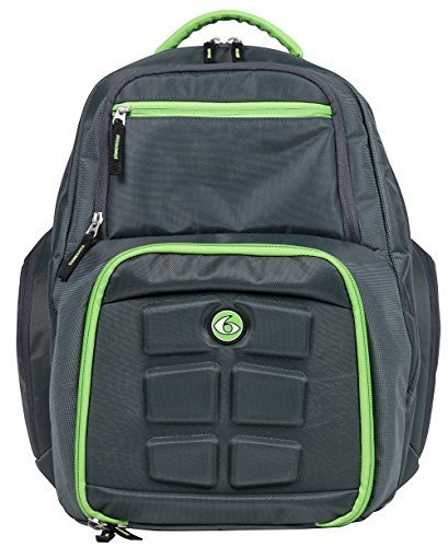 33b14a0bcd 6 Pack Fitness Expedition Backpack Meal Mangement System 300 Grey Green -  Buy Online in Oman.