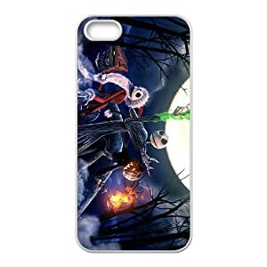 iPhone 5 5s Cell Phone Case White The Nightmare Before Christmas D470990