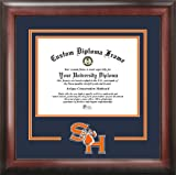 Campus Images NCAA Sam Houston State Bearkats Spirit Diploma Frame, 11 x 14, Mahogany